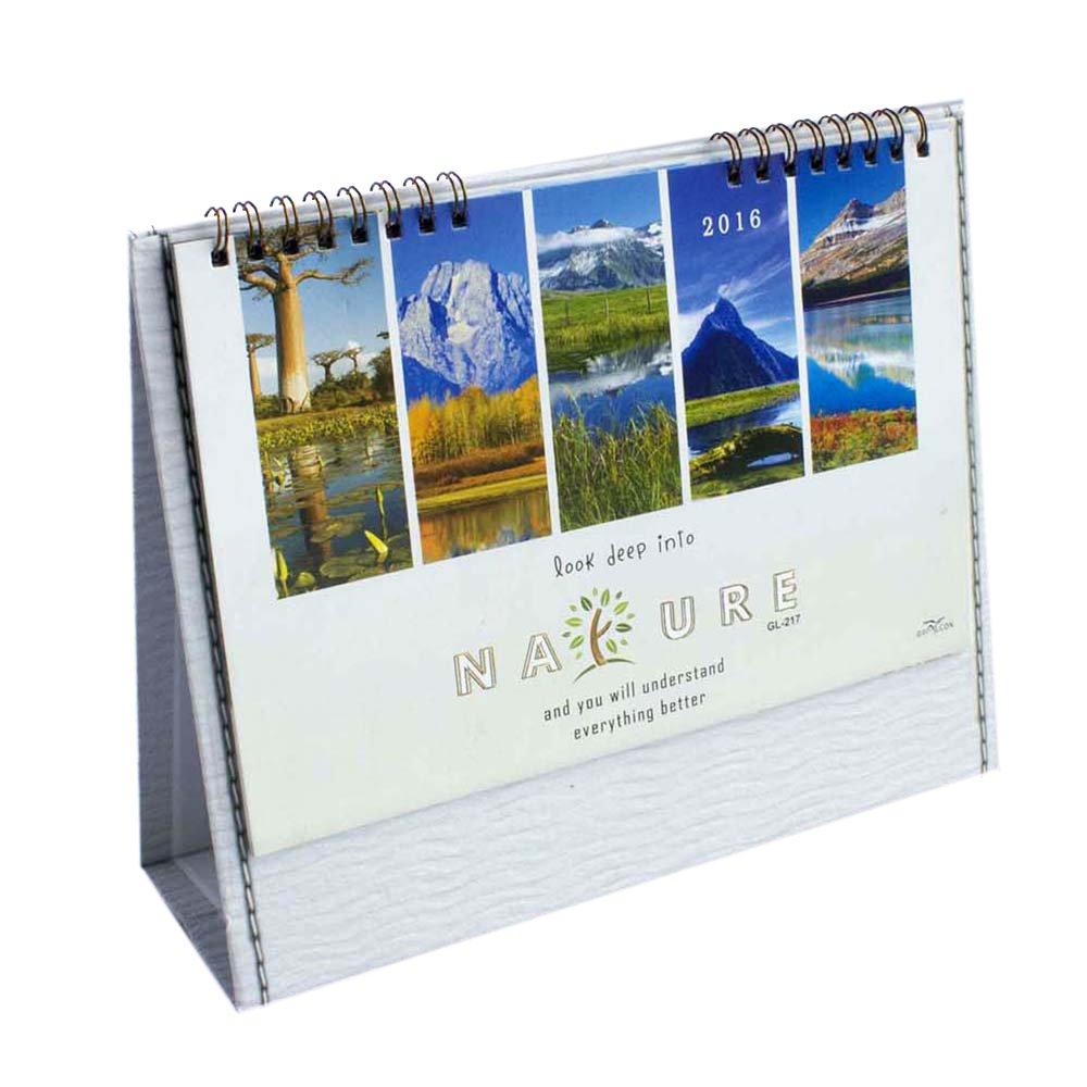 mẫu lịch bàn chủ đề du lịch