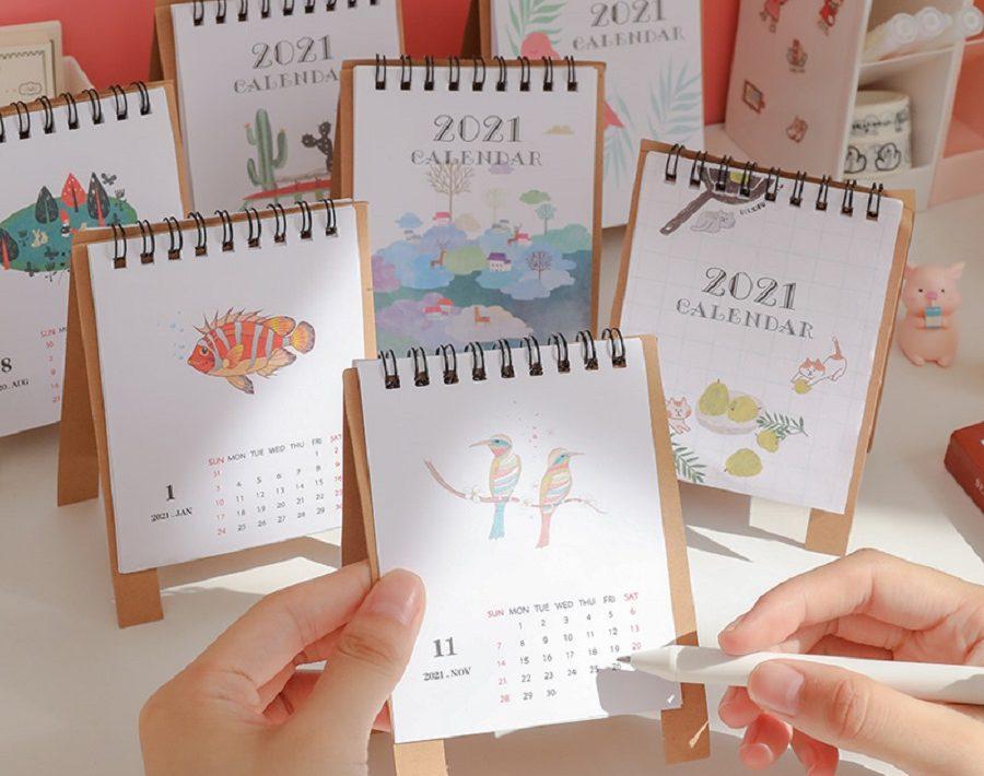 lịch bàn 2021